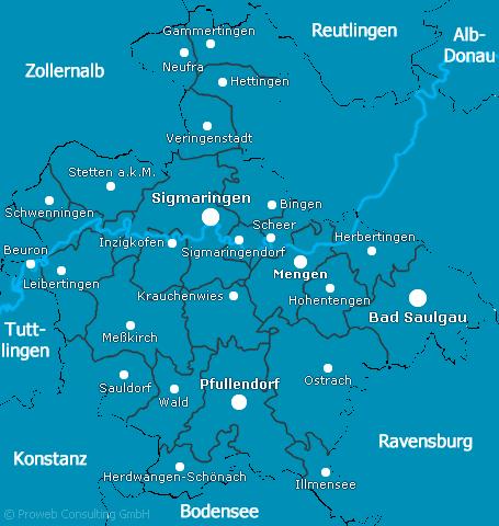 Landkreis Sigmaringen Corona Karte